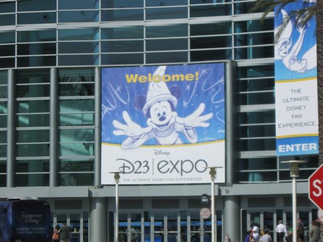 D23 Expo Entrance