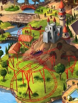 Enchanted Airways will be a junior coaster that provides thrills for the little ones.