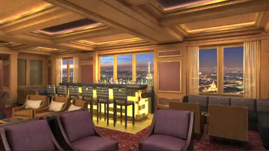 SKyline is an elegant city restaurant for adults only!
