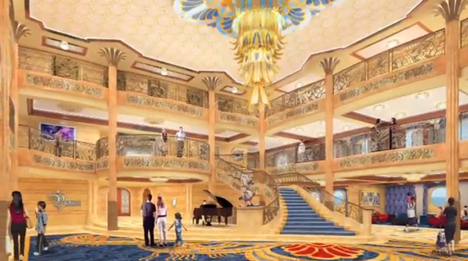 The Lobby is a hat tip to ocean liners of the 1920's and 1930's.