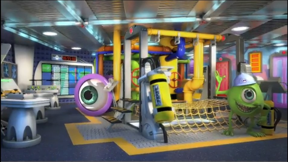 The Disney Dream will feature two amazingly themed play areas for small children.