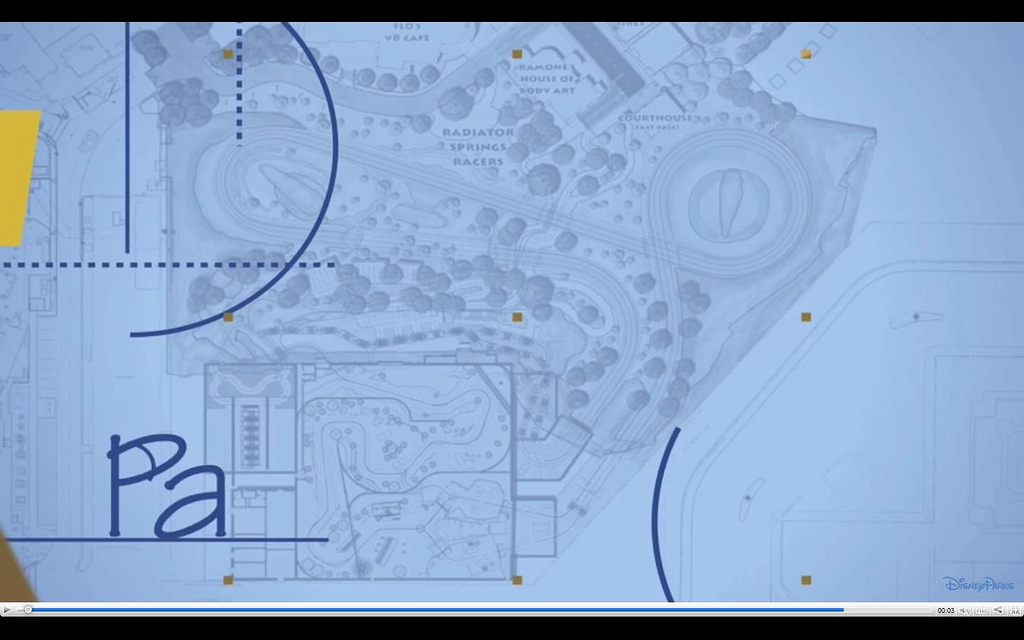 Radiator springs blueprint wdwmagic unofficial walt disney world radiator springs blueprint malvernweather Image collections