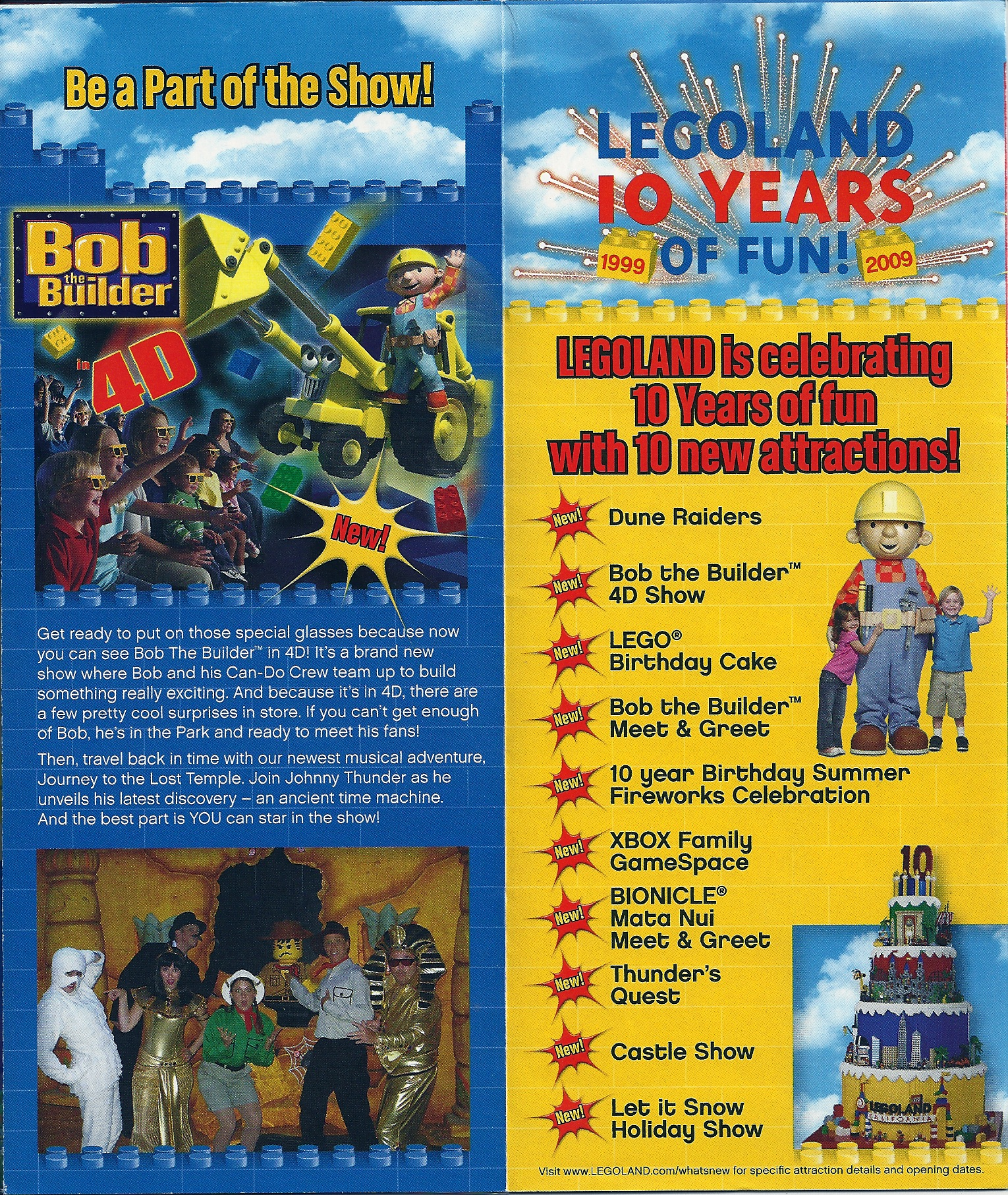 Heroes Wanted Legoland 2008 Brochure Park Thoughts