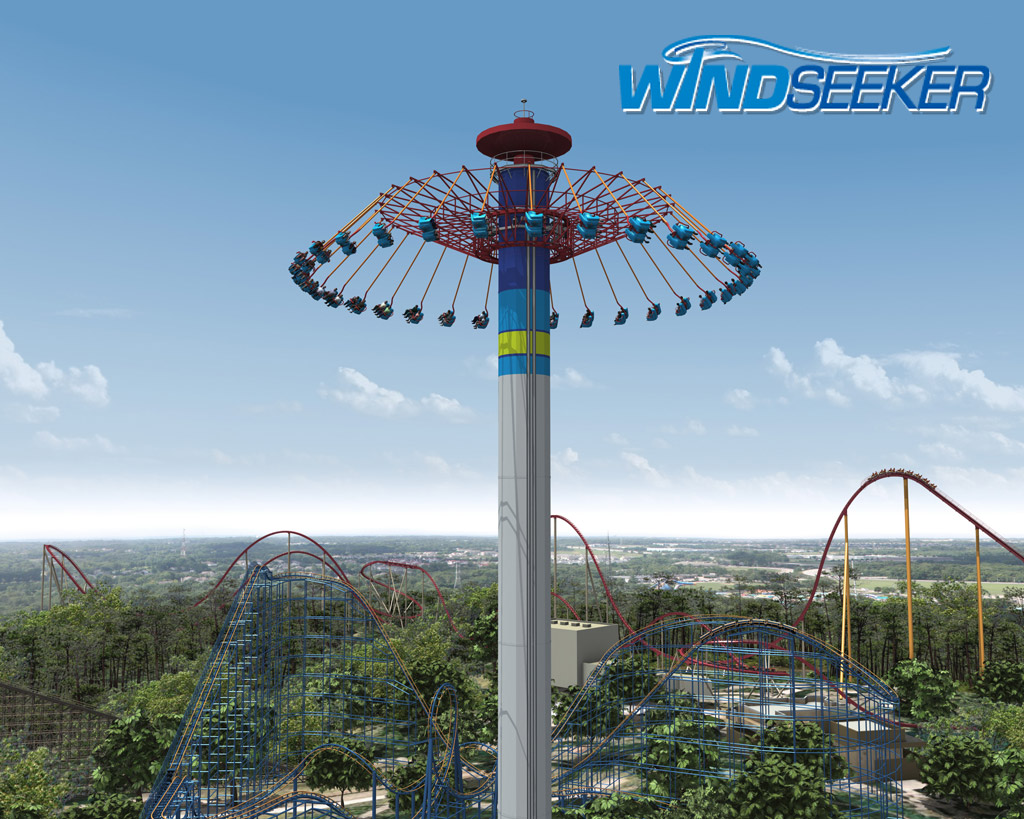 Two more windseekers cedar point and kings island park for Chaise volante