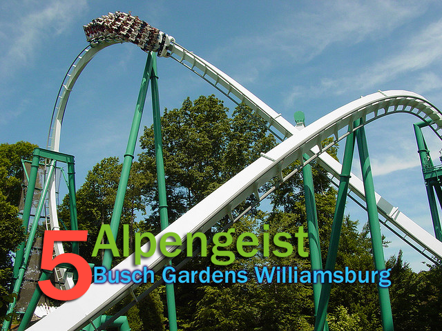 Top 10 roller coasters at busch gardens williamsburg - Busch gardens williamsburg rides ...